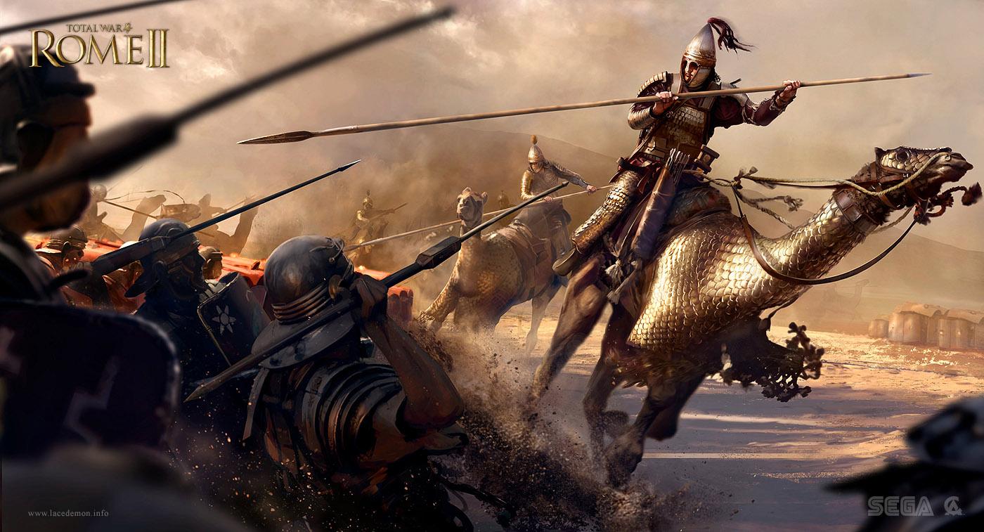 Nowa praca dla Total War Rome II