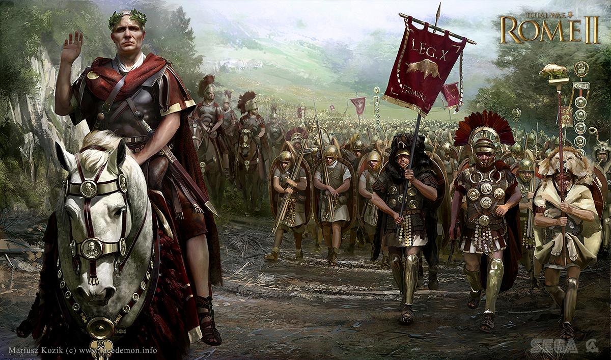 Nowe ilustracje dla Total War: Rome II