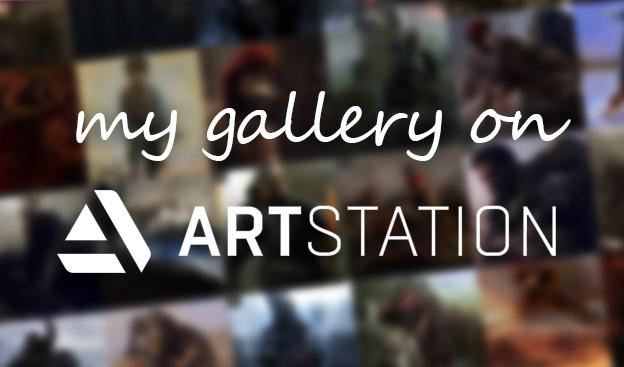 Moja galeria na artstation.com